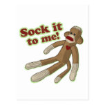 Sock It To Me! Postcards