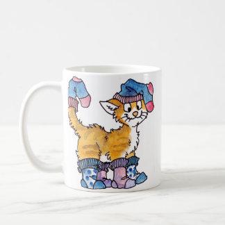 Sock Kitty Mug