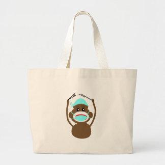 Sock Money General Surgery---Adorable Canvas Bag