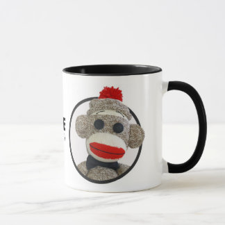 Sock Monkee Therapy Circle Mug