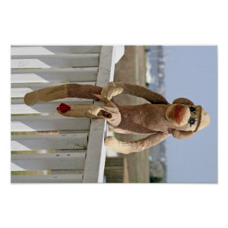 Sock Monkey 1 poster