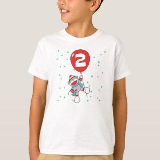 Sock Monkey 2nd Birthday T-Shirt