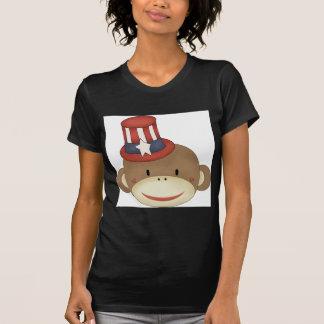 Sock monkey 4th of july shirts