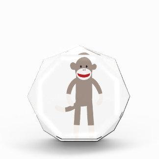 Sock Monkey Acrylic Award