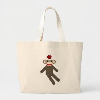 sock monkey bags