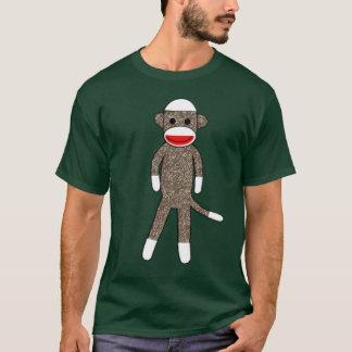 Sock Monkey Basic Hooded Sweatshirt