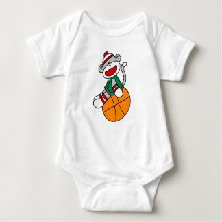Sock Monkey Basketball T-shirts and Gifts
