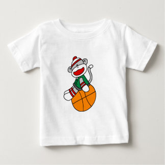 Sock Monkey Basketball Tshirts and Gifts