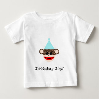 Sock Monkey Birthday Boy T-Shirt