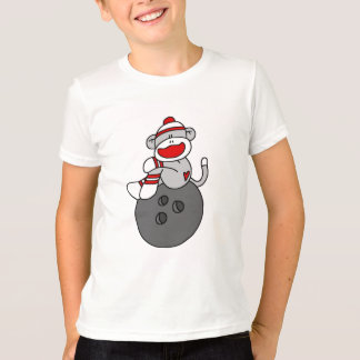 Sock Monkey Bowling T-shirts and Gifts