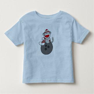 Sock Monkey Bowling T-shirts and Gifts