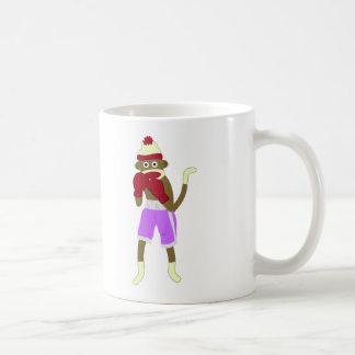 Sock Monkey Boxer Coffee Mug