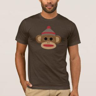 eb9cb38042f Sock Monkey Brown Men's Basic T-Shirt