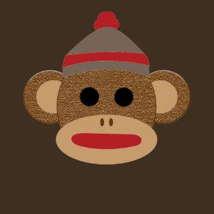 3a7752e1 Sock Monkey T-Shirts - T-Shirt Design & Printing   Zazzle