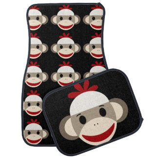 Sock Monkey Car Mats Floor Mat