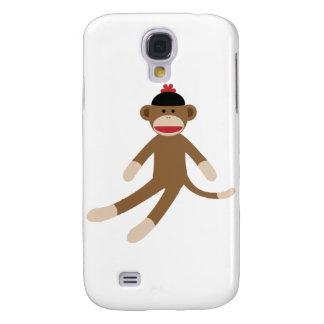 sock monkey samsung galaxy s4 cover