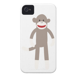 Sock Monkey Case-Mate iPhone 4 Cases