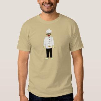 Sock Monkey Chef T-shirt
