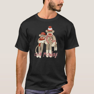 Sock Monkey Code Monkey T Shirt