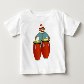 Sock Monkey Conga Drums Shirts