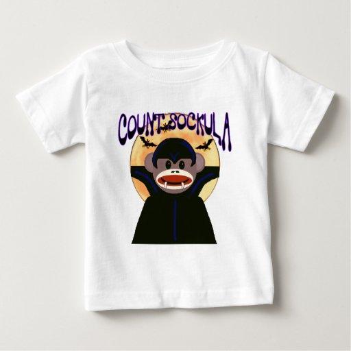 Sock Monkey count sockula t-shirts