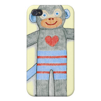 Sock Monkey Cover For iPhone 4