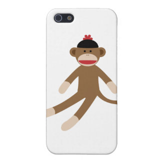 sock monkey cover for iPhone SE/5/5s