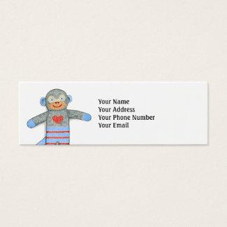 Sock Monkey Business Cards & Templates | Zazzle
