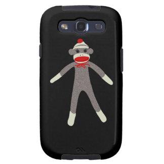 Sock Monkey Droid Case Galaxy S3 Case