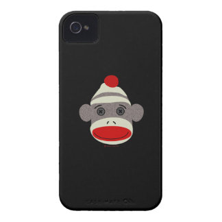 Sock Monkey Face iPhone 4 Cover