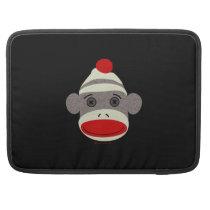 Sock Monkey Face MacBook Pro Sleeve