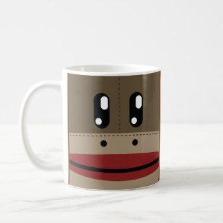 Sock Monkey Face Products Coffee Mug