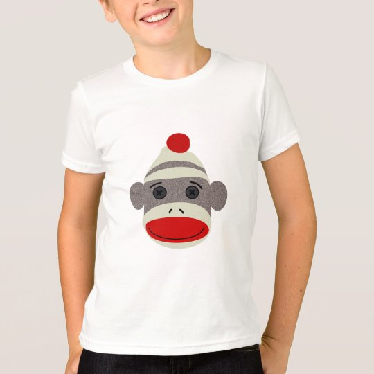 Sock Monkey Face T-Shirt