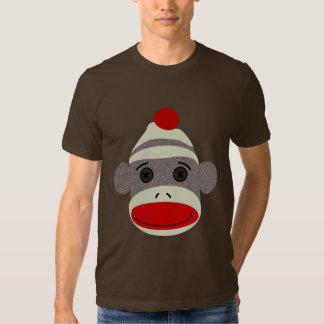Sock Monkey Face Tee Shirt