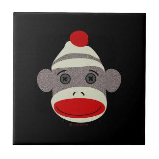 Sock Monkey Face Tile
