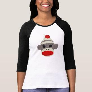 Sock Monkey Face Tshirts