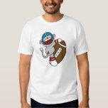 Sock Monkey Football T-shirts