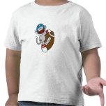 Sock Monkey Football Tshirt