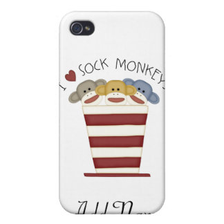 SOCK MONKEY for 4/4S Covers For iPhone 4