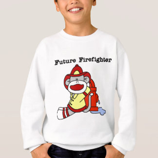 Sock Monkey Future Firefighter Tshirts and Gifts