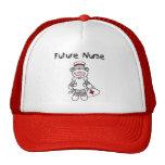Sock  Monkey Future Nurse T-shirts and Gifts Mesh Hat