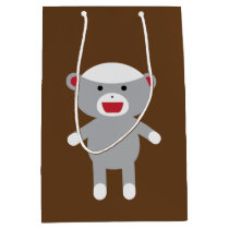 Sock Monkey Gift Bag