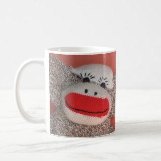 "Sock Monkey ""Good morning!"" Coffee Mug"