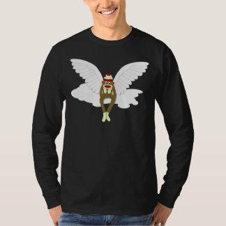 Sock Monkey Guardian Angel T Shirt