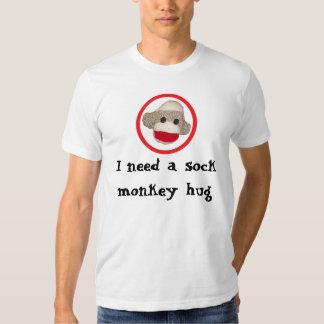 Sock monkey hug T-Shirt