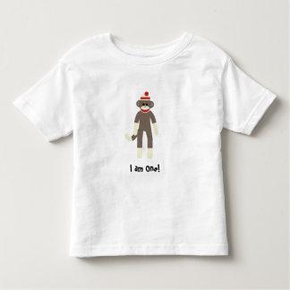 sock monkey I am One! T Shirt