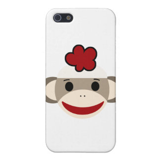 sock monkey iphone 4/4s case