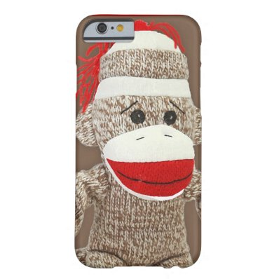 sock monkey iPhone 6 case iPhone 6 Case