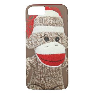 sock monkey iPhone 7 case
