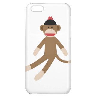 sock monkey iPhone 5C case